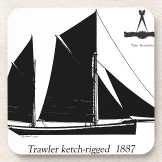 1887 trawler ketch-rigged - tony fernandes coaster