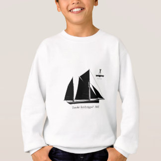 1887 trawler ketch-rigged - tony fernandes sweatshirt