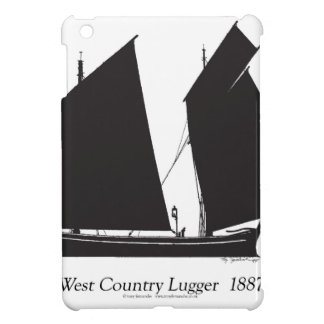1887 west country lugger - tony fernandes iPad mini cover