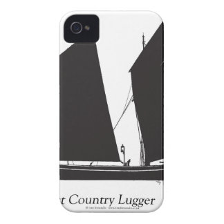 1887 west country lugger - tony fernandes iPhone 4 case