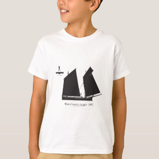 1887 west country lugger - tony fernandes T-Shirt