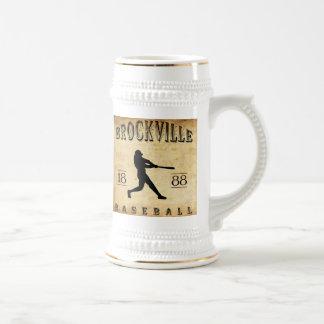 1888 Brockville Ontario Canada Baseball Beer Stein