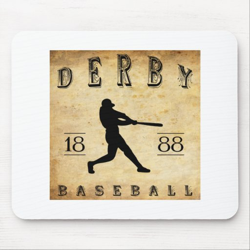 1888 Derby Connecticut Baseball Mouse Pad
