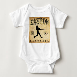 1888 Easton Pennsylvania Baseball Baby Bodysuit