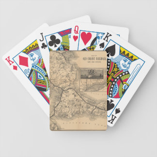 1888_Old_Colony_Railroad_Cape_Cod_map Bicycle Playing Cards