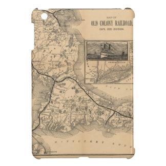 1888_Old_Colony_Railroad_Cape_Cod_map iPad Mini Cases
