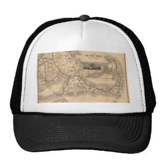 1888_Old_Colony_Railroad_Cape_Cod_map Trucker Hat