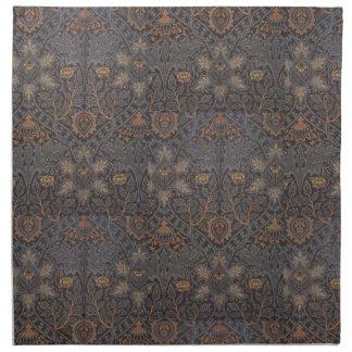 1888 Vintage William Morris Ispahan Napkin