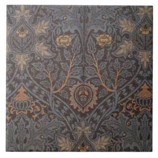 1888 Vintage William Morris Ispahan Tile