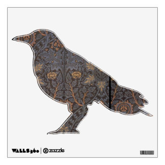 1888 Vintage William Morris Ispahan Wall Decal