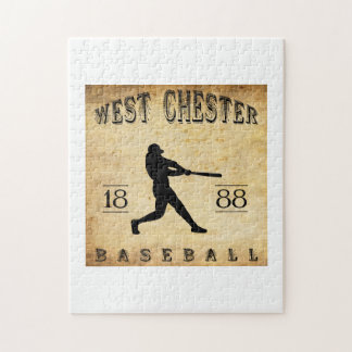 1888 West Chester Pennsylvania Baseball Jigsaw Puzzle