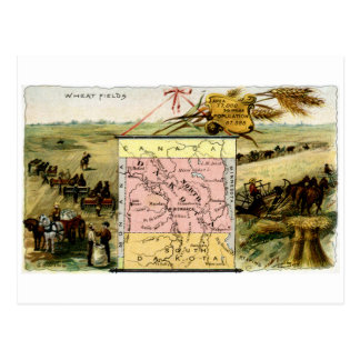 1889 North Dakota Postcard