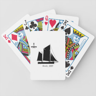 1889 solent ketch - tony fernandes bicycle playing cards