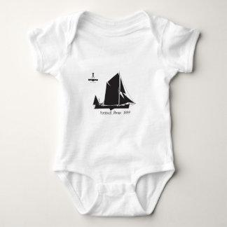 1889 spritsail barge - tony fernandes baby bodysuit