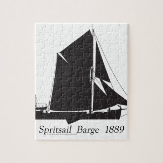1889 spritsail barge - tony fernandes puzzle