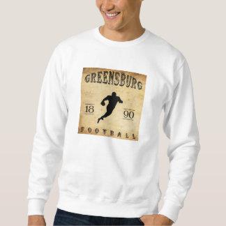 1890 Greensburg Pennsylvania Football Sweatshirt