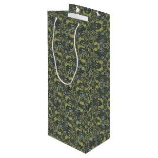 1890 Vintage William Morris Seaweed Wine Gift Bag