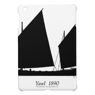 1890 yawl - tony fernandes iPad mini cover
