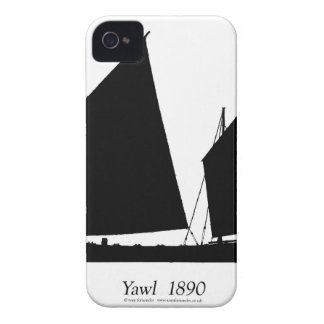 1890 yawl - tony fernandes iPhone 4 cover