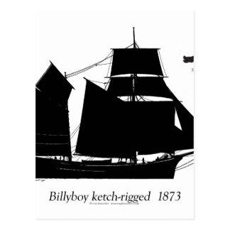 1891 Billyboy - tony fernandes Postcard