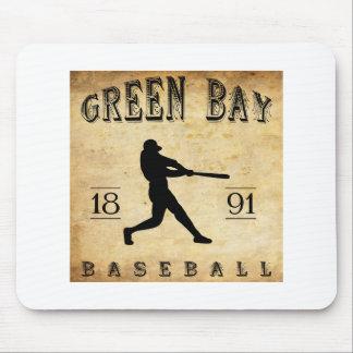 1891 Green Bay Wisconsin Baseball Mouse Pad