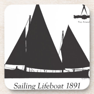 1891 sailing lifeboat - tony fernandes coaster