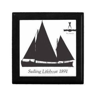 1891 sailing lifeboat - tony fernandes gift box