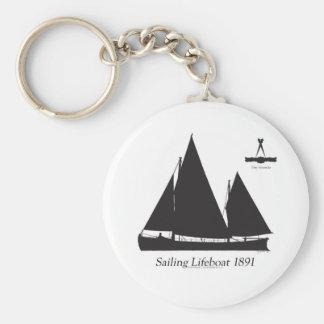 1891 sailing lifeboat - tony fernandes keychain