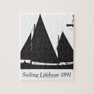 1891 sailing lifeboat - tony fernandes puzzle