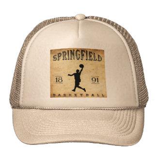 1891 Springfield Massachusetts Basketball Trucker Hat