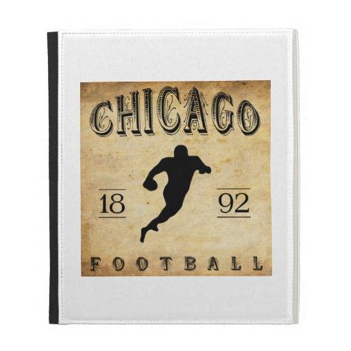 1892 Chicago Illinois Football iPad Folio Covers