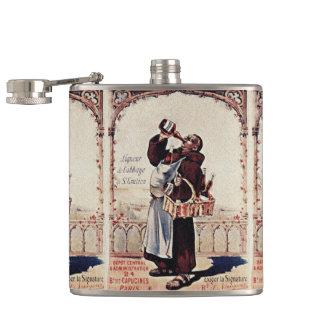 1892 Cute Monk  Liquor Flasks