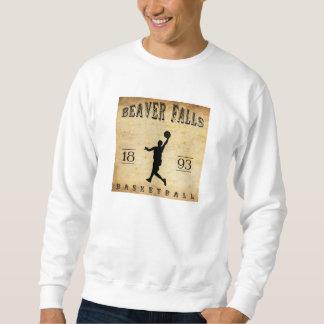 1893 Beaver Falls Pennsylvania Basketball Sweatshirt