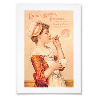 1893 Linden Bloom Perfume Art Photo