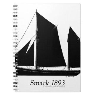 1893 sailing smack - tony fernandes notebook
