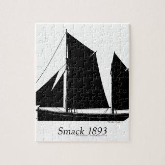 1893 sailing smack - tony fernandes puzzles