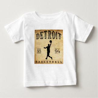 1894 Detroit Michigan Basketball Baby T-Shirt