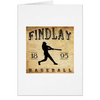1895 Findlay Ohio Baseball Card