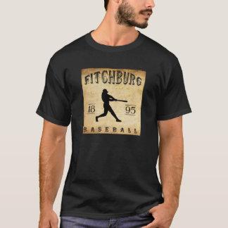 1895 Fitchburg Massachusetts Baseball T-Shirt