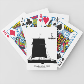 1895 Humber Keel - tony fernandes Bicycle Playing Cards