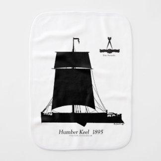 1895 Humber Keel - tony fernandes Burp Cloth