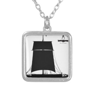 1895 Humber Keel - tony fernandes Silver Plated Necklace