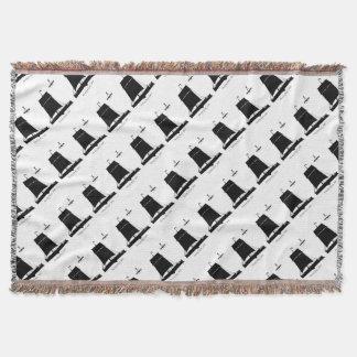 1895 Humber Keel - tony fernandes Throw Blanket