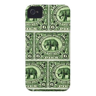 1895 Indian Princely States Elephant iPhone 4 Case