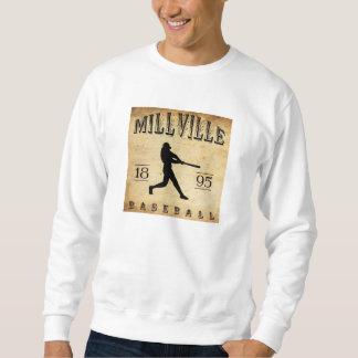 1895 Millville New Jersey Baseball Sweatshirt