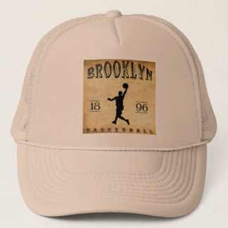 1896 Brooklyn New York Basketball Trucker Hat