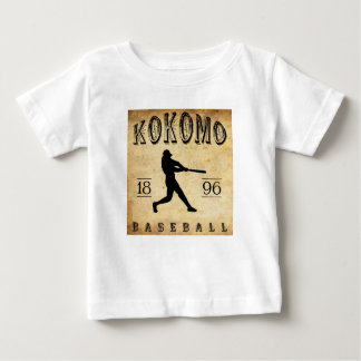 1896 Kokomo Indiana Baseball Baby T-Shirt