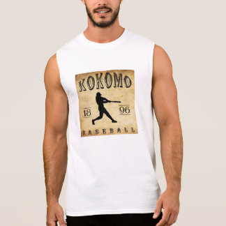 1896 Kokomo Indiana Baseball Sleeveless T-shirts