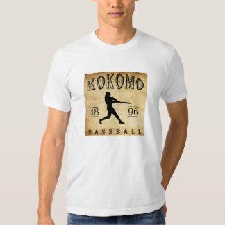 1896 Kokomo Indiana Baseball T Shirt