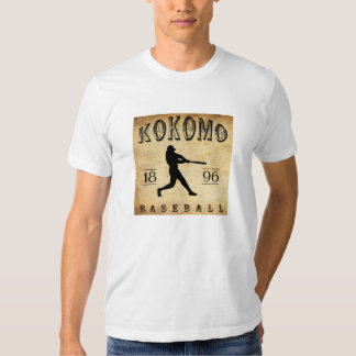 1896 Kokomo Indiana Baseball T-shirts